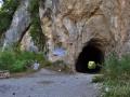 "Vedľa tunela pribudol nápis ""Sagapo Christina""."