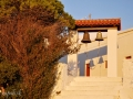 Podvečerné tiene v kláštore Agia Moni