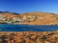 Záliv v Agios Ioannise, Tinos - dediny, 2016