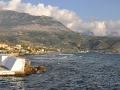 Agios Nikolaos a pohľad na Taygetos