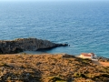 Kythira - pláže, kostol Agios Nikolaos