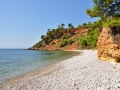 Pláže na Alonissose, Kokkinokastro