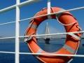 Na trajekte cez Korintský prieplav