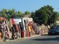 Trh v Kyparissii cestou do mesta Arta