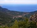 Cesta za Leonidiom, pohľad na Kyparissi