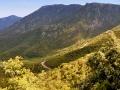 Pohorie medzi Leonidiom a Monemvasiou, panoráma