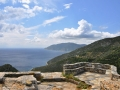 Chora, Alonissos, pohľad smerom ku Skopelosu