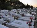 Chora, Alonissos, cintorín pod Chorou