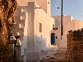 Ulička ku Kastro - k ruinám hradu, Serifos