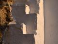 Detail múru, Kastro, Serifos