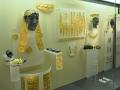 Delfy, chryselephantine, sochy zo slonoviny so zlatými ozdobami