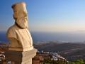 Priblížený Ioannis Kollaros v Dyo Choria, Tinos
