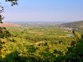 Edessa - pohľad na krajinu smerom k Tesalonikám.