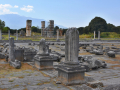 Filippi, agora s bazilikou B v pozadí