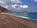 Pláž Firi Ammos Kalamos na Kythire