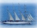 Gytheo, aj takéto parádne plachetnice sem zavítali (Star Clippers Cruising)