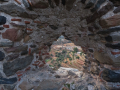 Hrad Vatika alebo Agia Paraskevi neďaleko Neapoli Voion