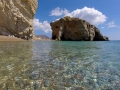 Kaladi beach, Kythira