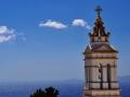 Veža kostola Kioura v Kardiani, Tinos