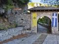 Zagori - Monodendri, vstup do kláštora Agia Paraskevi