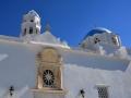 Tinos - dediny, kostol v Ktikadose
