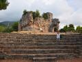 Kyparissia - malé divadlo v areáli hradu