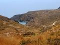 Pomaly sa blížime k pláži Melidoni na Kythire