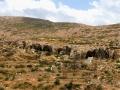 Okraj rokliny oproti ceste na kythirskú pláž Melidoni ukrýva jaskyne Tripites.