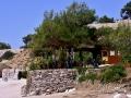 Taverna na pláži Metalia, Thassos