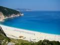 Tyrkysovo-modrá hladina na Myrtose, Kefalónia