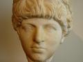Olympia, hlava zo sochy Lucia Vera, spolucisára Marca Aurélia, 2. polovica 2. st. n. l.