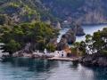 Parga - kostolík na ostrove Panagia