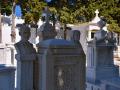 Pyrgos, Tinos, mramorový cintorín