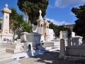 Pyrgos, Tinos - cintorín, samý mramor,