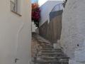Tinos - dediny - Triantaros, samé schody