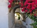 Tinos - dediny - Triantaros, a opäť v podchode