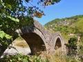 Zagori - kamenný most Kalogeriko a dedina Kipi
