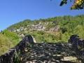 Zagori - kamenný most Milos a dedina Kipi
