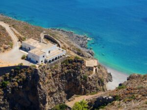 Kythira - pláže, Sparagario