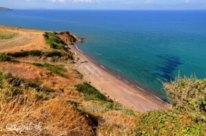 Kythira - pláže, Kalamitsi