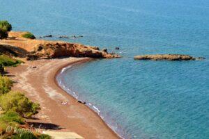 Kythira - pláže - Firi Ammos Agia Pelagia