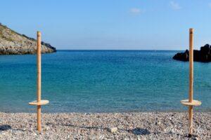 Kythira - pláže, Chalkos