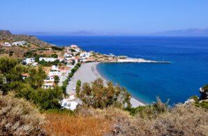 Kythira pláže - Platia Ammos