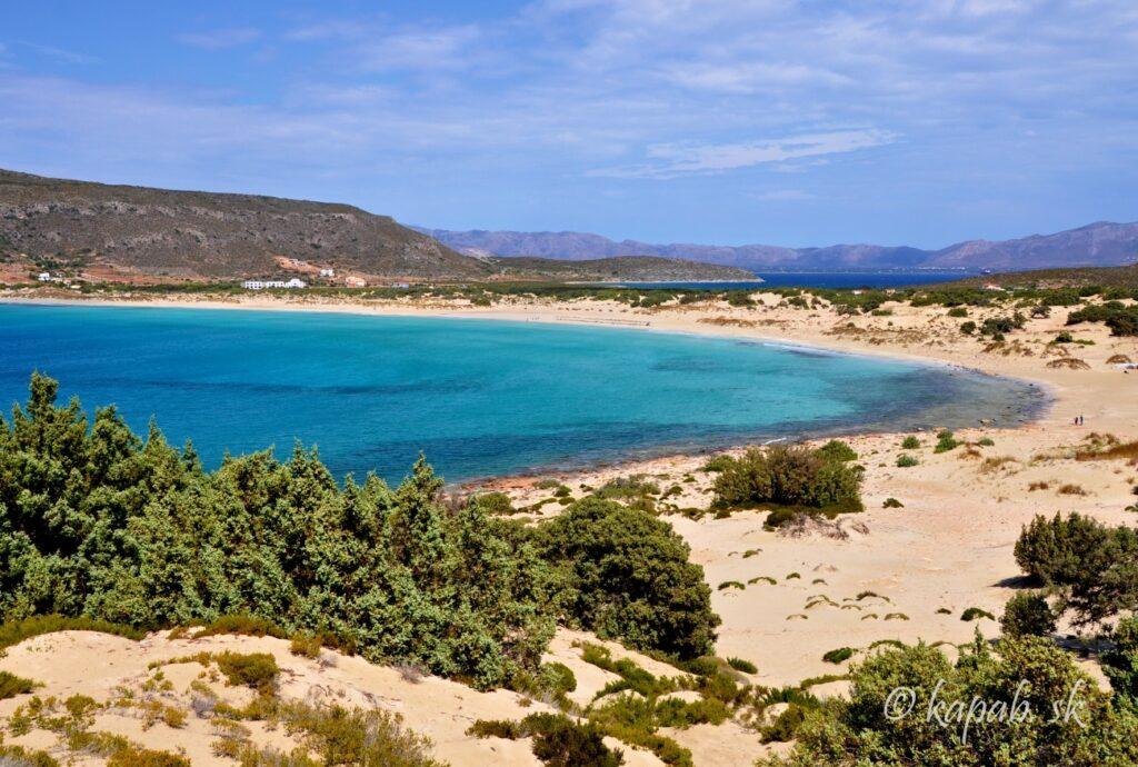 Ostrov Eladonisos - pláž Simos