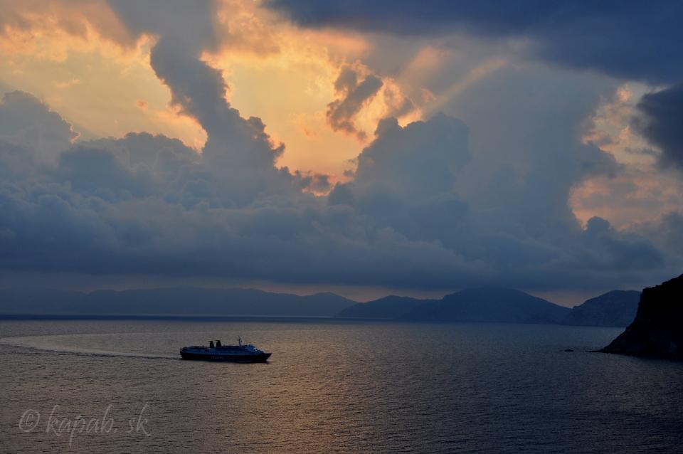 Počasie na Skopelose - Trajekt z Alonissosu