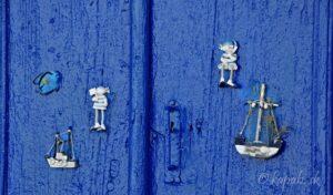Kythira - dvere v Chore