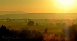 Srbsko, východ slnka