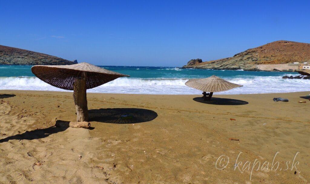 Tinos - jedna z tinoských pláží