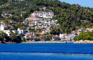 Alonissos - pláže, 2. časť Pláž Rousoumi