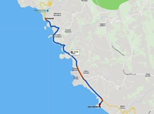Kardamyli - Agios Nikolaos